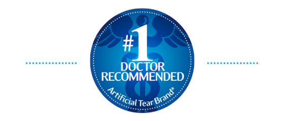 #1 Doctor Recommended Artificial Tear Brand*