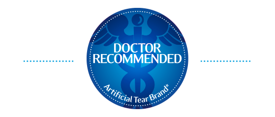 Doctor Recommended Artificial Tear Brand*